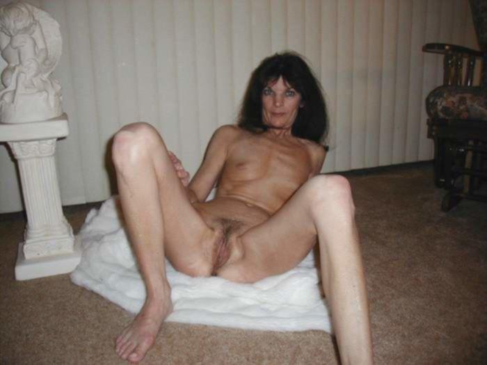 Русская домохозяйка сделала фото после теплого душа